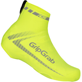 GripGrab RaceAero Hi-Vis Lightweight Lycra Shoe Cover yellow